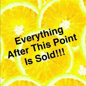 Other - Sold 🍋Sold 🍋Sold 🍋Sold